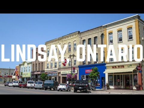 A Quick Trip to Lindsay, Ontario | Exploring Kawartha Lakes