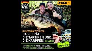 "***Karpfenangeln TV*** Komplette Gratis-DVD ""In Session with Fox 5"""