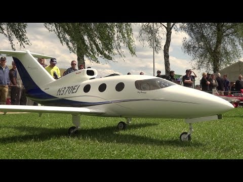RC Business Jet Epic-Victory Turbine powerd Model @Oldtimermeeting Switzerland