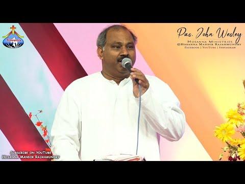 అనురాగాలు కురిపించే నీ ప్రేమ తలచి..Pas.John Wesley anna Latest Live song || Anuragalu Kuripinchey..