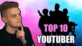 Meine Top 10 LIEBLINGS-Youtuber!