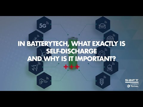 What is self-discharge in a primary lithium battery? motion design part 2