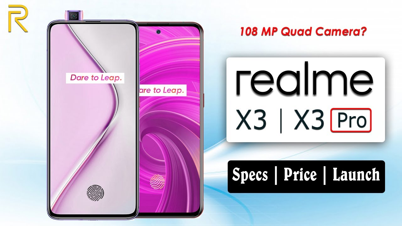 Realme X3 Realme X3 Pro Details Price Launch Youtube