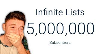 5 MILLION SUBSCRIBERS