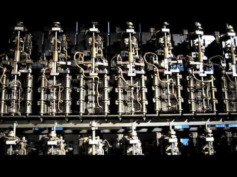 Electromechanical automatic telephone exchange