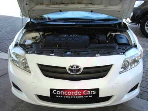 2010 TOYOTA COROLLA 1.6 PROFESSIONAL Auto For Sale On Auto Trader South  Africa