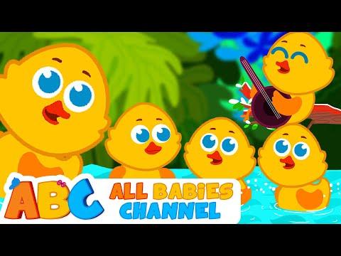 Five Little Ducks   Nursery Rhymes and Kids Songs   Songs for Children   