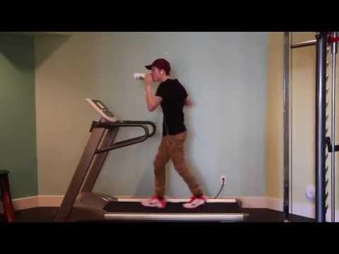 Oakley Thacker Jr. V.P LPHS (Uptown Funk Treadmill Dance)