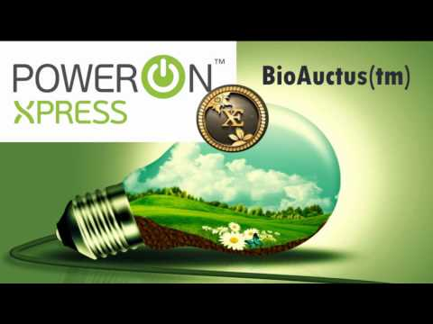 PowerOnXpress Under Written by Exergonix Introduces BioAuctus