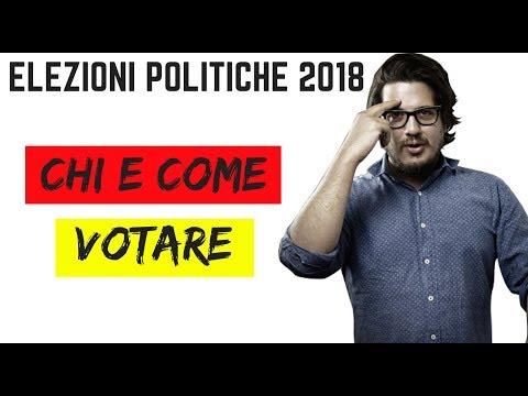 Come Votare e Chi Votare alle Elezioni Italiane del 4 Marzo 2018