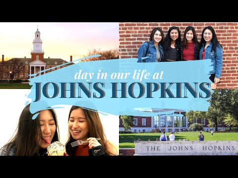LIFE AT JOHNS HOPKINS UNIVERSITY: Classes, Research, Food, and more!