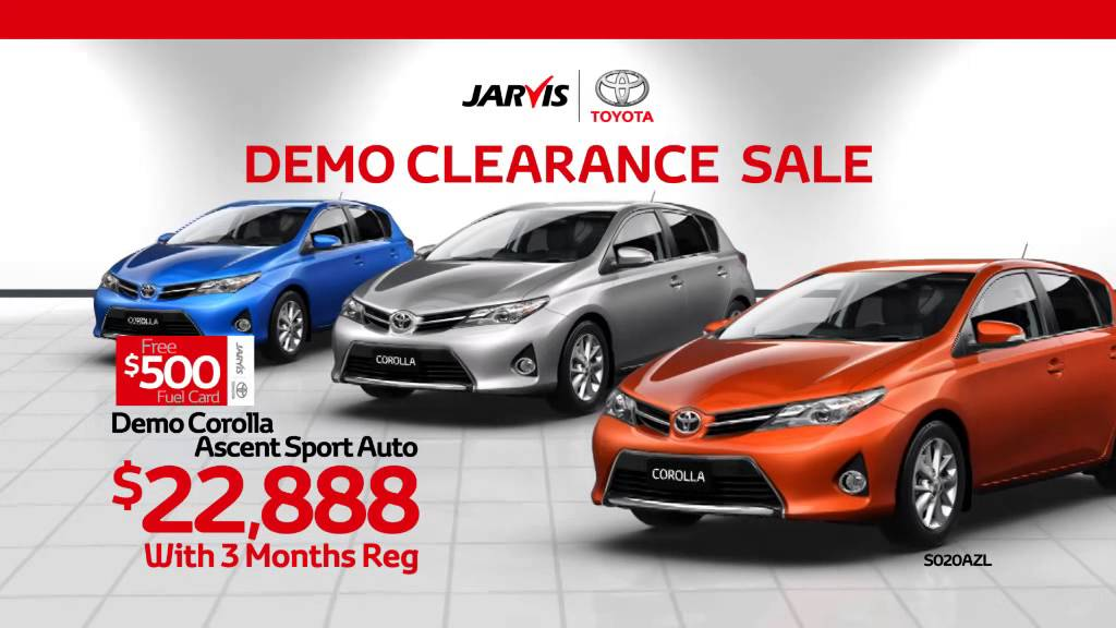 The Jarvis Toyota Demo Clearance Sale is on now! Jarvis Cars  sc 1 st  YouTube & The Jarvis Toyota Demo Clearance Sale is on now! - YouTube markmcfarlin.com