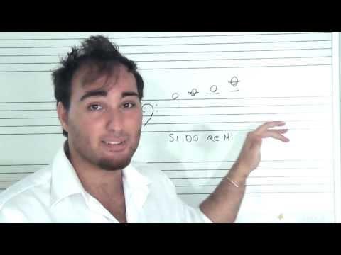 Principali Note - Chiave di Basso