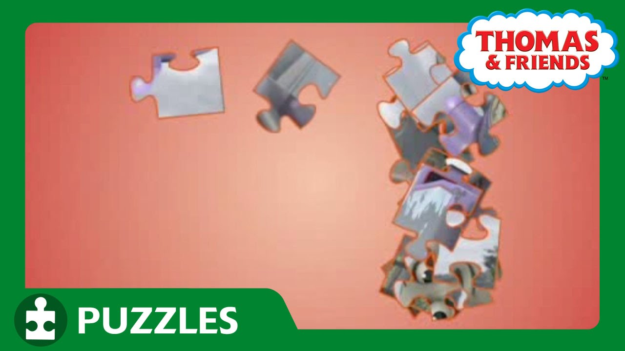 engine puzzle 46 puzzles thomas friends youtube