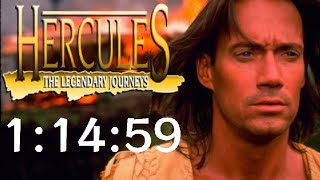 Hercules: The Legendary Journeys N64 Any% Speedrun in 1:14:59 [World Record]