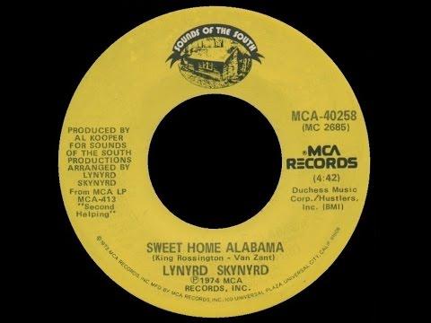 Listen to sweet home alabama on spotify. 1974 Lynyrd Skynyrd Sweet Home Alabama Youtube