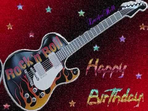 Rock Happy Birthday Song Youtube