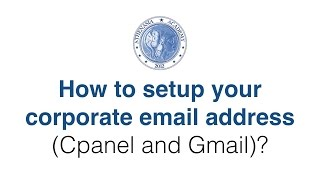 Setup a corporate email address in Gmail