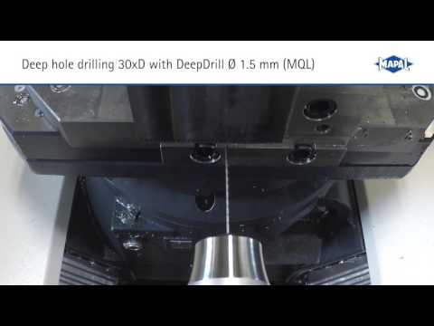 Deep Hole Drilling of the Smallest Diameters