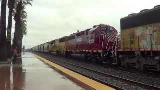Your typical rainy Union pacific action in Ontario, CA