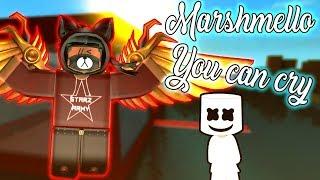 Marshmello x Juicy J - Sie können weinen | ROBLOX Fan Musikvideo!