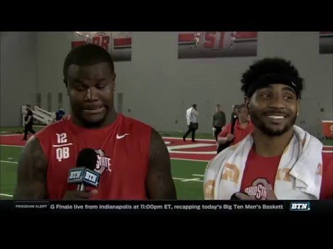 Braxton Miller And Cardale Jones - Ohio State Pro Day
