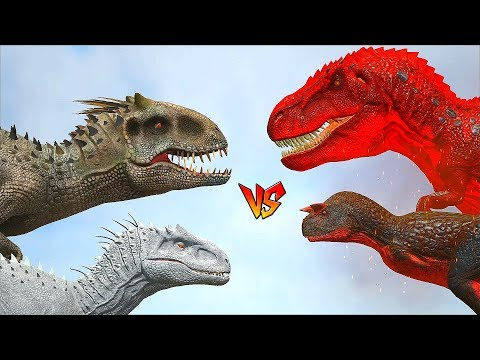 Ark Survival - NEW n OLD INDOMINUS REX vs ALPHA CARNO/TREX and more [Ep.303]