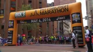 "2014 PGH Marathon ""Thank You to Pittsburgh"" Video"