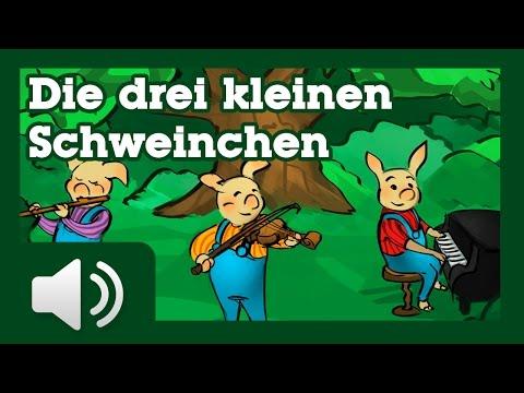 Die drei kleinen Schweinchen - Märchen für Kinder ( Hörbuch auf Deutsch )