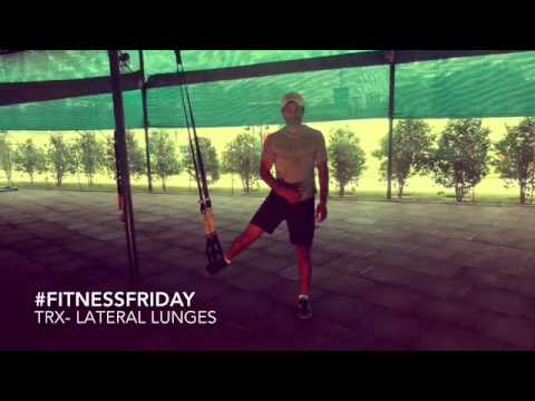 #FitnessFriday: TRX Lateral Lunge