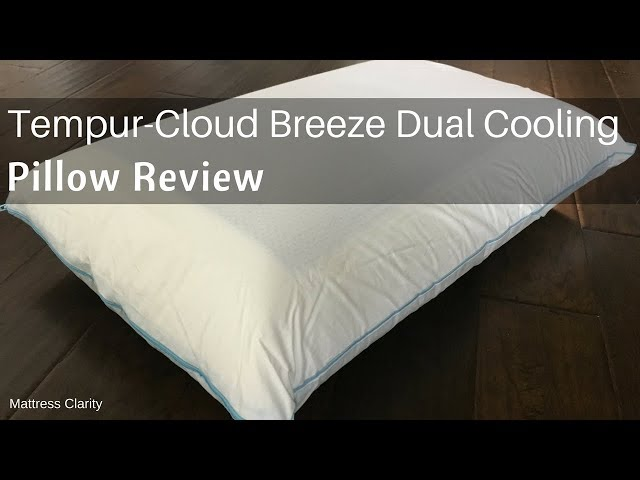 Tempur Cloud Breeze Dual Cooling Pillow Review Coolest Pillow