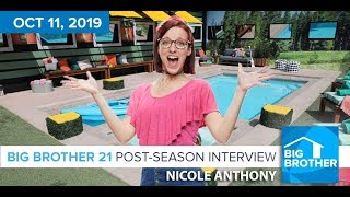 Big Brother 21 Nicole Anthony Interview