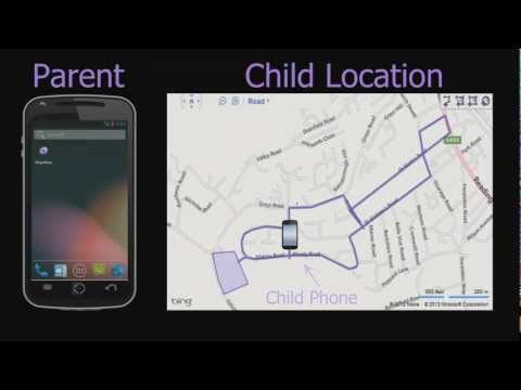 Map4Map child tracking app