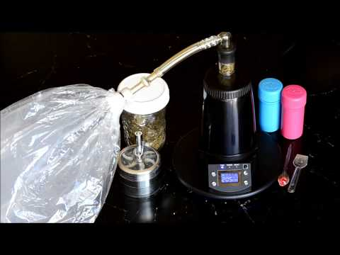 Arizer Extreme Q Balloon/Whip herb Vaporizer Review, Demo & Tips EQ