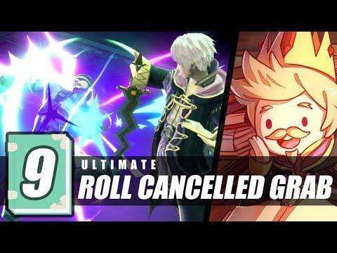 1-Minute Tech-Attack #9: Robin's Roll Cancelled Grab [SSBU]