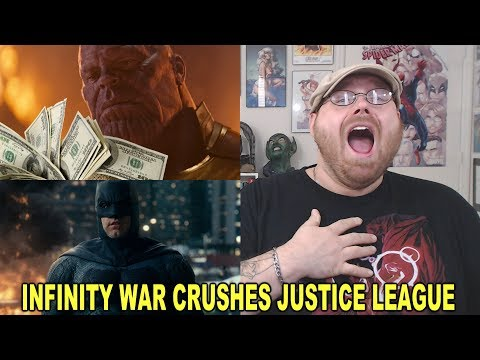 Avengers Infinity War Crushes Justice League's TOTAL Box Office Run in 3 Days!!!