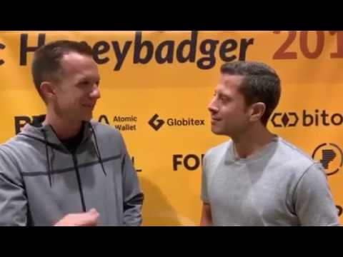 Saifedean Ammous and Stephen Cole Highlight the GiveBitcoin Mission at Baltic Honeybadger 2019