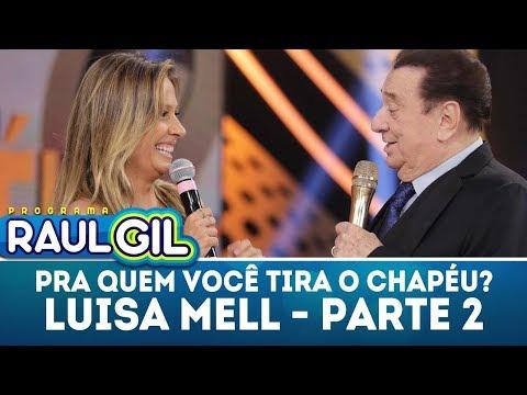 Pra Quem Você Tira O Chapéu - Parte 2  | Programa Raul Gil (24/03/18)