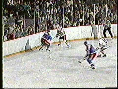 Blackhawks-Dynamo Riga, Jan. 4, 1989 (first period)