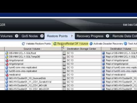 Dell Compellent Storage Center Enterprise Manager DR Plan