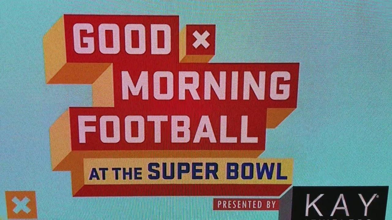 Good Morning Football : Good morning football super bowl live  youtube