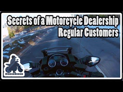 Secrets of Motorcycle Dealerships - Regular Customers