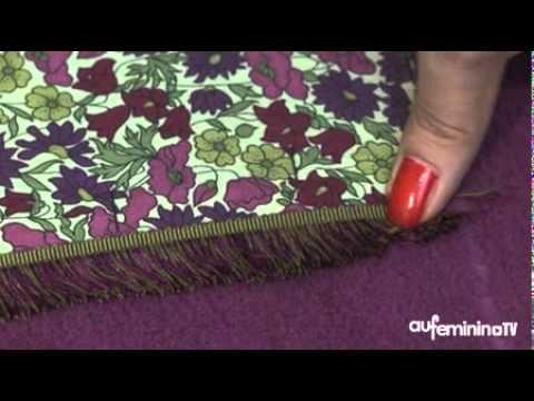 Comment faire un coussin avec notre pas pas vid o youtube - Fabriquer des coussins pour salon de jardin ...
