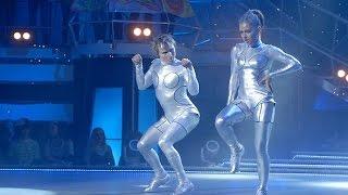 Валентина и Тема - Танцуют все 2. Роботы. Первый прямой эфир(Первый эфир второго сезона талант-шоу