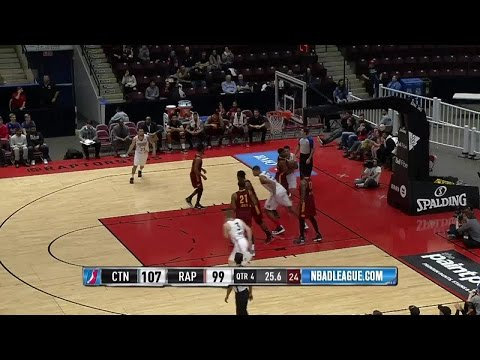 Walter Tavares posts 21 points & 10 rebounds vs. the Charge, 1/4/2017