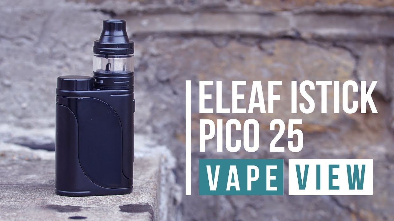 Eleaf Istick Pico 25 Starter Kit Review Vape View 75w Vapor Vaporizer Superstore