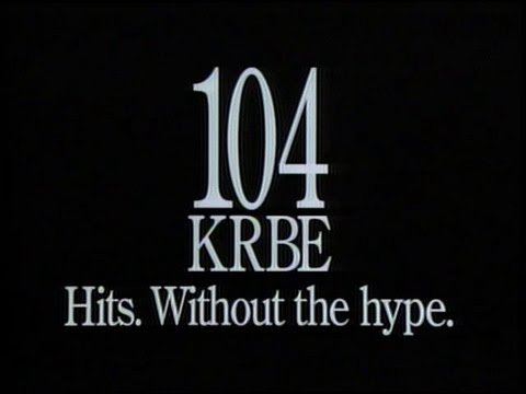 104 KRBE Houston - Hits Without the Hype (1991)