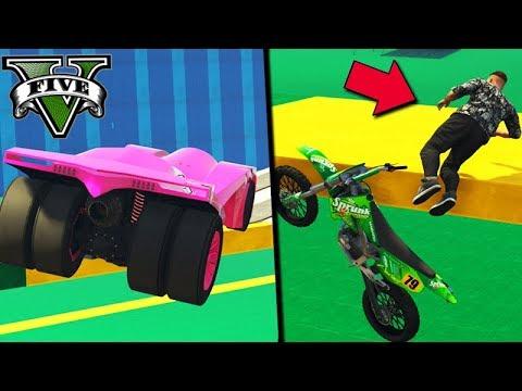 GTA V Online: MOTO vs BATMÓVEL - LIPÃO *O REI DA MITADA*