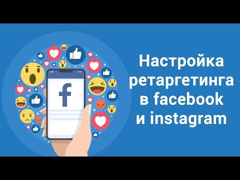 Настройка ретаргетинга в Facebook/instagram. Продвижение в социальных сетях.