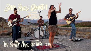 "Sardinia Plays The Blues: Bad Blues Quartet - ""You Better Make Her Twirl"" @ Nuraghe di Seruci"
